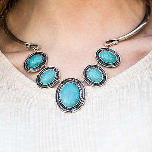 River Ride - Blue Necklace Set